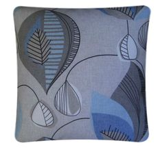 """Cushion Cover Made With Starlight Mineral Clarke and Clarke Fabric 14"""" Scatter"""
