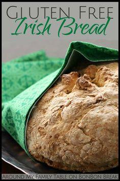 This Gluten Free Irish Soda Bread Recipe bakes into bread that tastes, smells, and looks just like traditional Irish Soda Bread. St. Patrick's Day Extravaganza,St. Patrick's Day,#stpatricks,