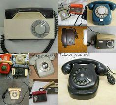 Telefony • Retro 2, Retro Look, Techno, Retro Fashion, Childhood, Memories, Vintage, Traditional, Objects
