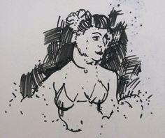 Chris F: Dr Sketchy's sketch 4
