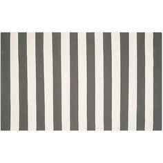 Safavieh Montauk Drake Striped Handcrafted Flatweave Rug, Multicolor