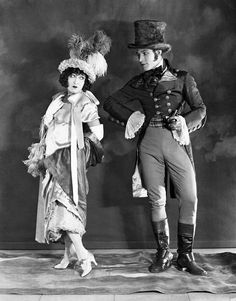 """miss-flapper: """" Rudolph Valentino and Gloria Swanson photographed for Beyond The Rocks, 1922 """""""