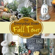 The Everyday Home Fall Tour