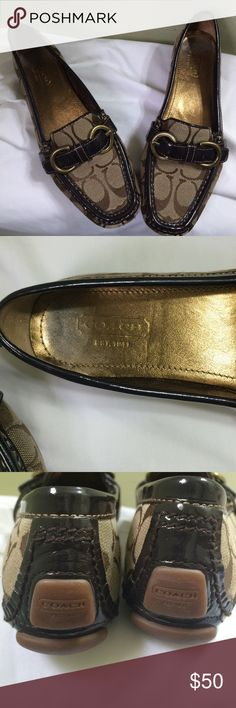 Coach loafers Authentic Coach Loafers. Great pre loved condition! Coach Shoes Flats & Loafers