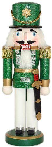 10 Soldier Nutcracker Color: Green $14.99 (50% OFF)