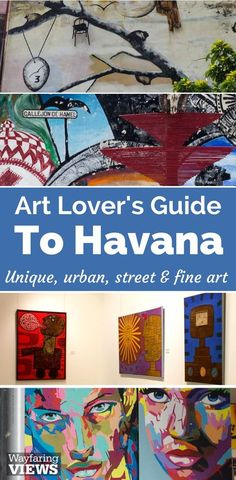 Get your art lover's guide to Havana. These cultural things to do in Havana include travel to Callejon de Hamel, street art, Bellas Artes museum and artisan markets.