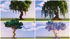 Minecraft Tree, Minecraft Structures, Minecraft Cottage, Minecraft Medieval, Cute Minecraft Houses, Minecraft Room, Minecraft Plans, Amazing Minecraft, Minecraft Tutorial