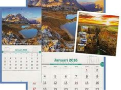 Gambar indahnya dunia di kalender
