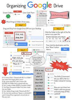 Organizing Google Drive #nisdgoogle