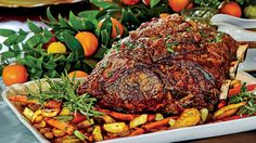 OUR RIB-ROAST CAME OUT PERFECT. THIS IS ALSO KNOWN AS A CHRISTMAS ROAST.