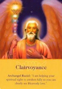 – Archangel Raziel – Clairvoyance