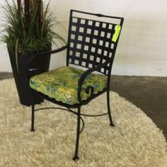 Sheffield Wrought Iron Chair