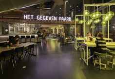 Het Gegeven Paard, Tivoli, Utrecht, The Netherlands. Concept & design by Creneau International - www.creneau.com