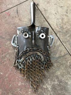 Metal Yard Art, Scrap Metal Art, Metal Art Projects, Metal Crafts, Art En Acier, Metal Fab, Steel Art, Horseshoe Art, Rustic Art