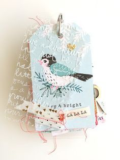 In The Scrap: December daily mini - por Else Noel Christmas, Christmas Gift Tags, Christmas Albums, Xmas, Mini Scrapbook Albums, Scrapbook Cards, Birthday Scrapbook, Birthday Cards, December Daily
