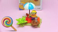 Minions - Mega Bloks Despicable Me - Beach Party Brick Playset