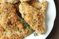 Quinoa Flake & Walnut Crusted Chicken