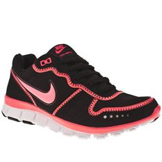 reputable site 2a177 1a6a5 Womens Black amp Pink Nike Free Waffle at schuhshoes Trainer