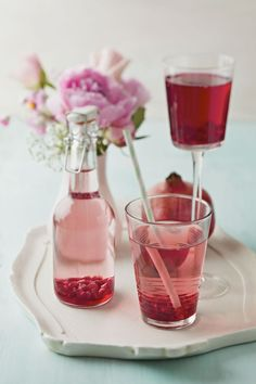Make Your Own Grenadine for the Tequila Sunrise