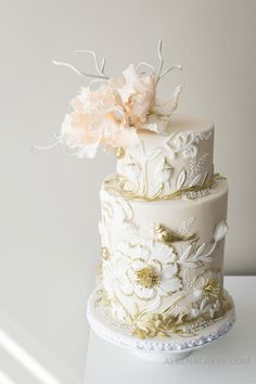 #1 Wedding Cake inspired by Enchanted Garden - Cake by Albena