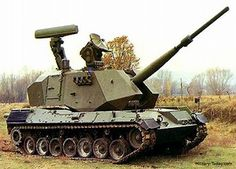 Anti-Aircraft Artillery | The Otomatic self-propelled anti-aircraft gun was never accepted to ...