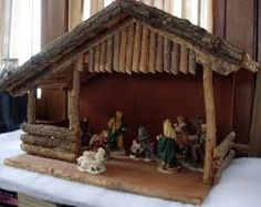 pesebres en madera - Buscar con Google Christmas Crib Ideas, Christmas Manger, Christmas Program, Christmas Wood, Christmas Crafts, Christmas Decorations, Nativity House, Nativity Stable, Diy Nativity
