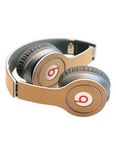 Lazerwood - Beats Solo Wood Cover | VAULT Design Beats Solo, White Things, Beats Headphones, Bag Accessories, Eco Friendly, Designers, Relax, Technology, Gray