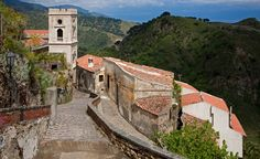 The quiet hilltop town of Savoca is only a 40-minute drive from the popular Sicilian resort town of Taormina. (From: Photos: Beautiful Villages Around the World)