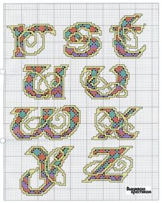 Celtic Knot Alphabet 3 end