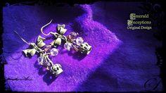 'Majesty's Charm' Earrings  *SOLD*