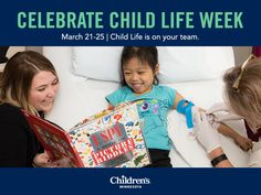 Join us in celebrating Child Life Week, March 21-25: Child Life is on your team! Child life specialists work with families in a health care setting using developmentally appropriate language to help them master their experiences. Because children are concrete thinkers, here are some examples of how child life specialists work to clarify misconceptions and support a child's success. #childlifeweek #childlife
