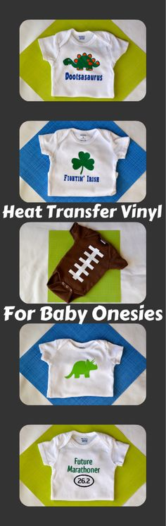 HTV for baby onesies