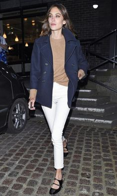 Four reasons why Alexa Chung nails this look.