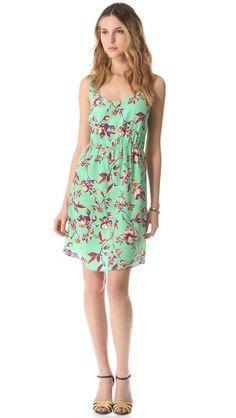 Joie Verdon Printed Dress for my spring wardrobe.