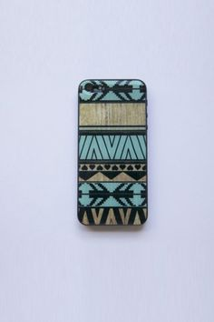 BlissfulCASE 3D Gel Skin With Aztec iPhone 5 Skin