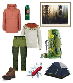 """""""Contest: Puffer jacket"""" by dtlpinn on Polyvore featuring Fjällräven, Trespass and Victorinox Swiss Army"""