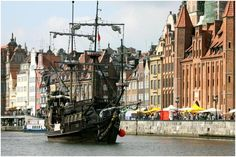 This is where the the founders of Dom itp are from - Gdansk Harbor, Poland