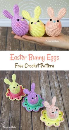 Cute crochet idea for Easter! #amigurumi #amigurumidoll #amigurumipattern #amigurumitoy #amigurumiaddict #crochet #crocheting #crochetpattern #pattern #patternsforcrochet