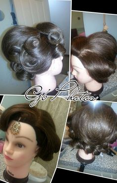 Bridal updo <3 great for weddings, engagment, parties.