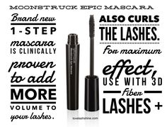 Younique's new Moonstruck Epic Mascara curls lashes