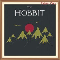The Hobbit (Jrr Tolken) Cross Stitch Pattern