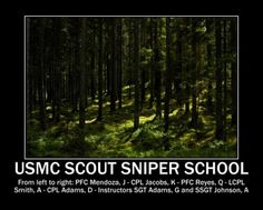 1st Marine Division shares....... One Shot: Marines with Scout ...