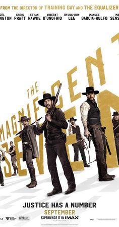 Directed by Antoine Fuqua. With Haley Bennett, Chris Pratt, Denzel Washington, Matt Bomer. Seven gun men in the old west gradually come together to help a poor village against savage thieves.