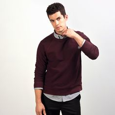 Superdry Merchant Henley - Men's Sweaters | minimalism | Pinterest ...