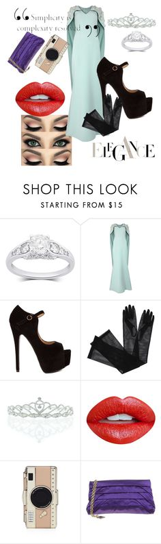 """""""elegant red carpet"""" by queenbutnotyetdrag ❤ liked on Polyvore featuring Safiyaa, Gucci, Kate Marie, Nevermind, Kate Spade and BCBGMAXAZRIA"""
