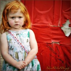 I'd love life I had a ginger child like this sweet girl!
