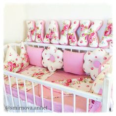 ideas diy baby stuff for girls newborns nurseries cribs Baby Bedding Sets, Cot Bedding, Baby Pillows, Newborn Nursery, Nursery Crib, Baby Bedroom, Baby Room Decor, Baby Cot Bumper, Baby Kit