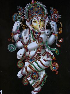 Make this Ganesha Chathurthi 2020 special with rituals and ceremonies. Lord Ganesha is a powerful god that removes Hurdles, grants Wealth, Knowledge & Wisdom. Arte Ganesha, Jai Ganesh, Ganesha Tattoo, Ganesh Statue, Shree Ganesh, Ganesha Pictures, Ganesh Images, Krishna Images, Indian Gods