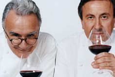 Chefs Daniel Boulud and Alain Ducasse - that's quite the pair! Chefs, Alain Ducasse, Drinking Buddies, James Beard, Michelin Star, Chef Recipes, Rock Stars, Physical Fitness, Bon Appetit
