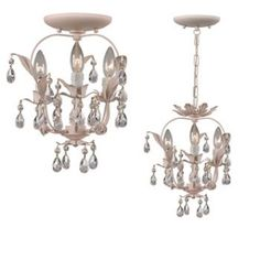 S's chandelier by Crystorama from Paris Flea Market collection